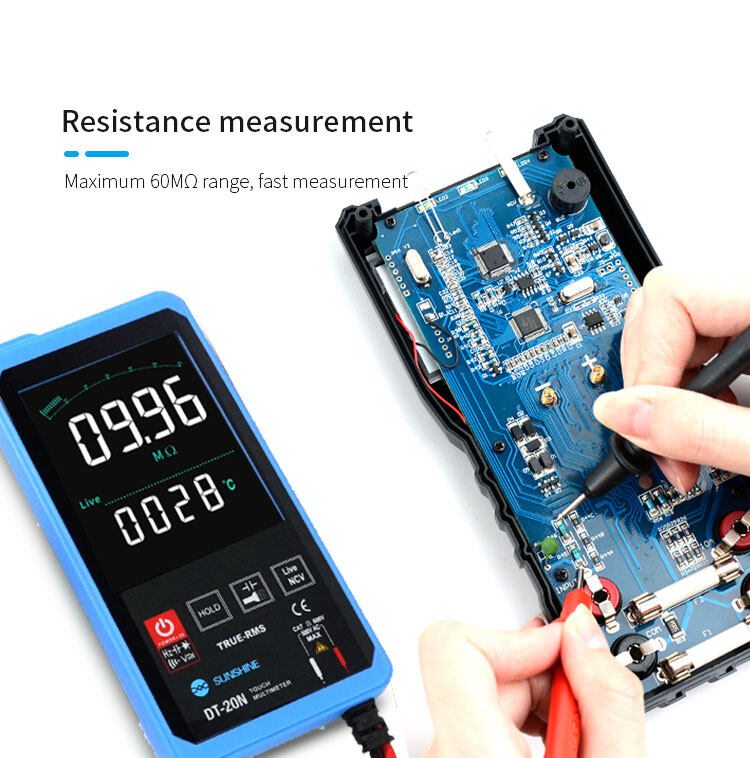 SUNSHINE DT-20N touch multimetersunshine DT-20N touch multimeter