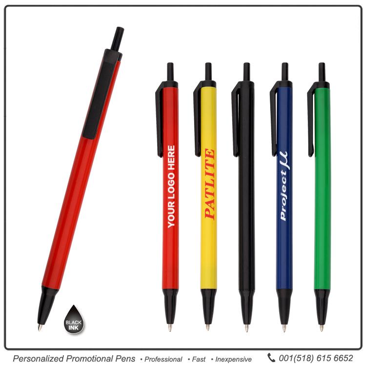 Bic Clic Stic Pen Custom Javelin Pens