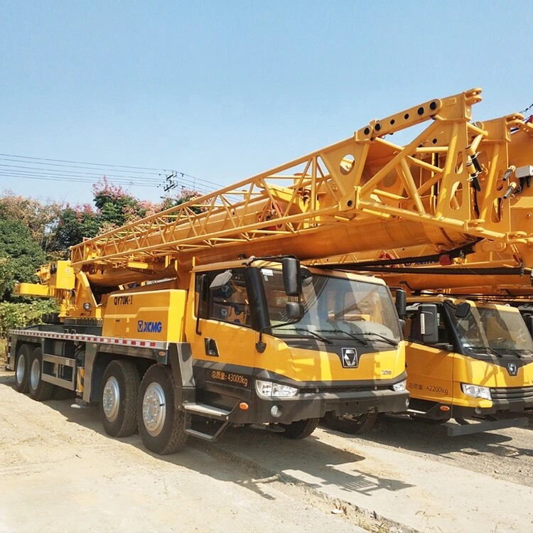 Year 2008 used condition XCMG QY70K-1 truck crane XCMG 70t