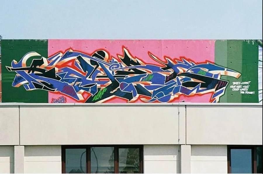 Conversation with Bates Danish Graffiti Artist