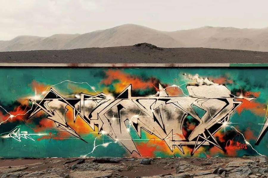 Conversation with Funco Paris Graffiti Artist