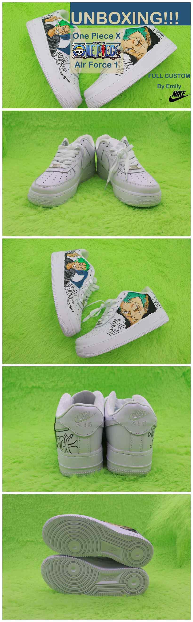 One Piece Custom Shoes