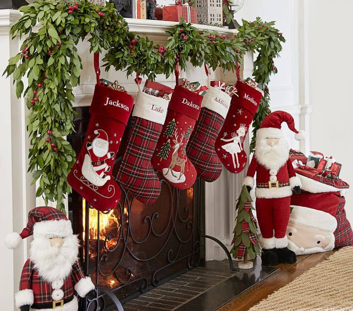 Plaid & Crewel Stocking Collection2.jpg